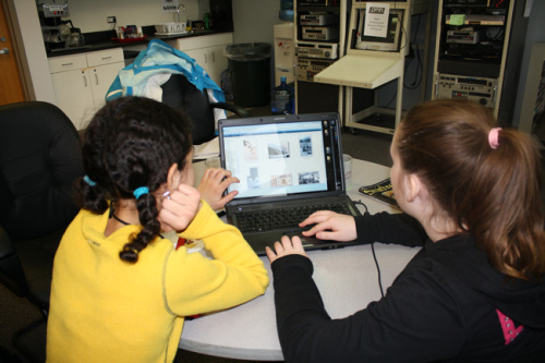 Girls get hands-on training in photography, writing and videography.